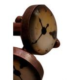 English Fashion Cuff Links Clock Design