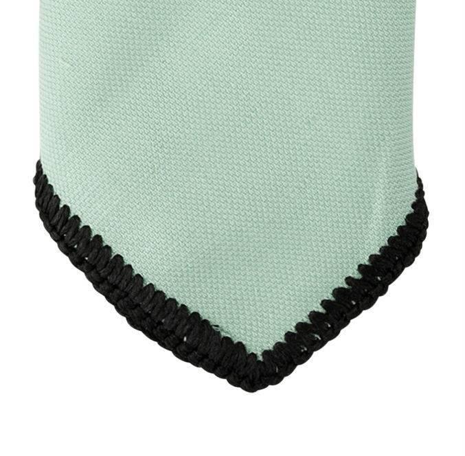 English Fashion Wollen pochette Pastel Groen