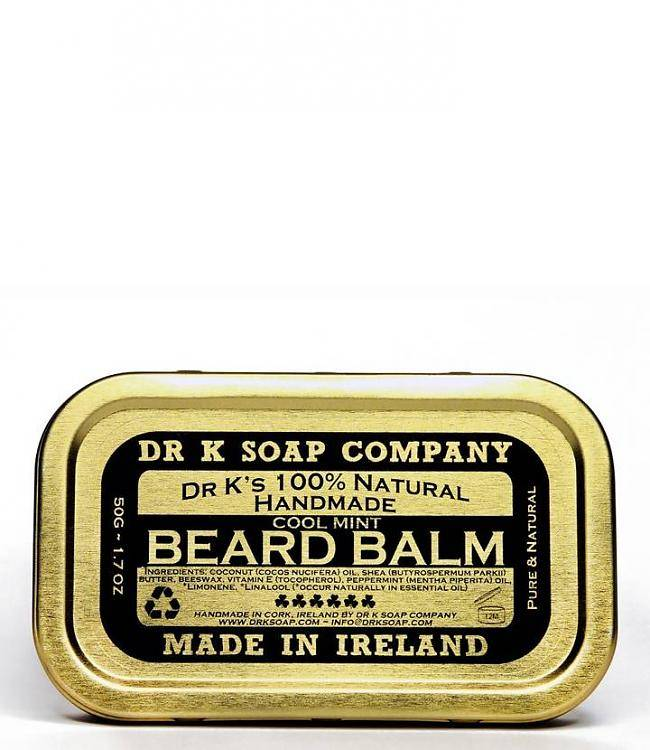 Dr. K. Soap company Baardbalm Cool Mint