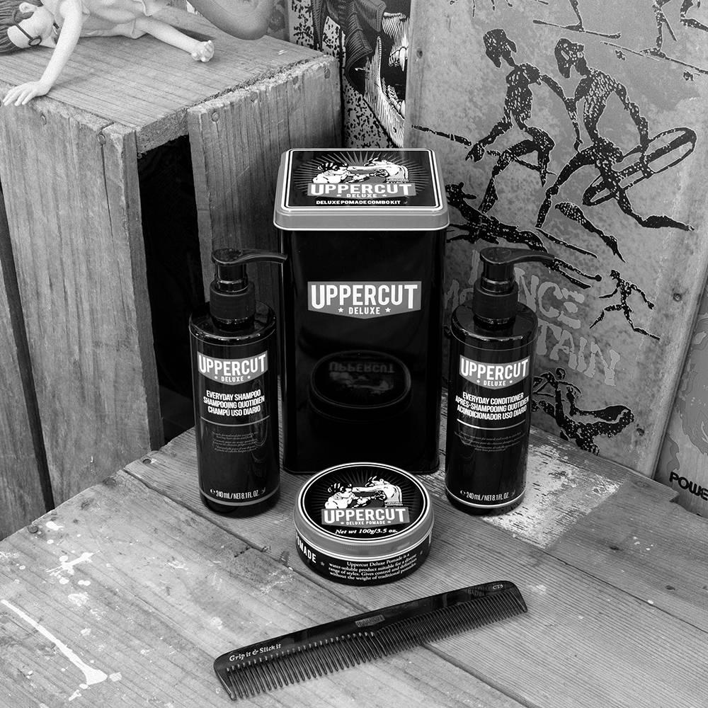 Uppercut Deluxe Pomade Haarverzorging Combo Pack