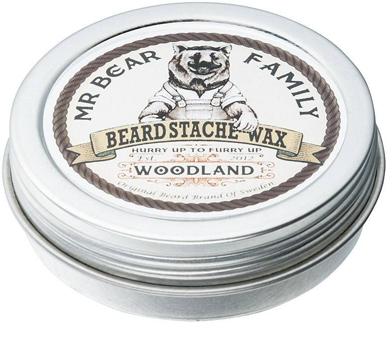 Mr. Bear Baardwax Woodland