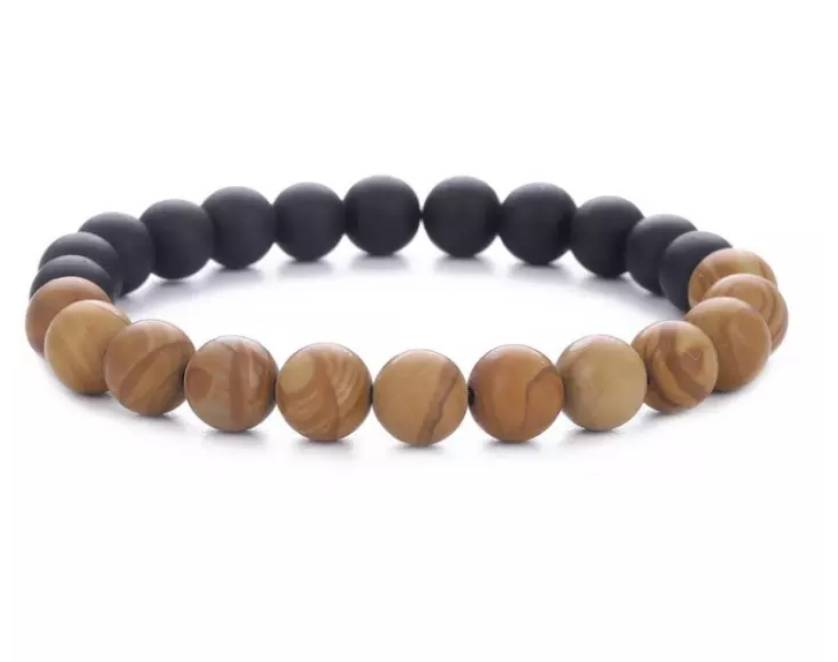English Fashion African Style Bracelet with wooden beads