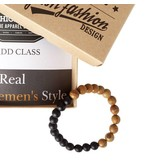 English Fashion African Style Houten kralen Armband