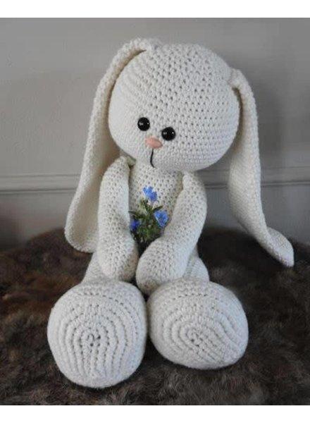 Funny XXL - Funny Bunny Basic ivoor ZONDER patroon