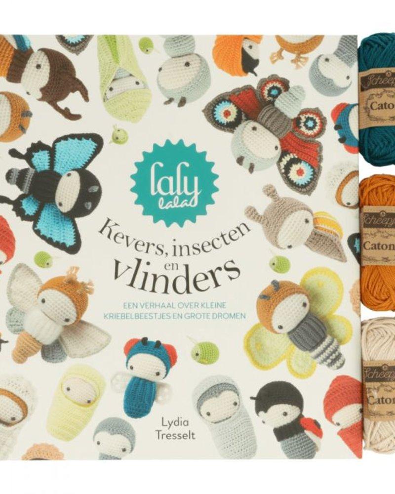 Boek - Kevers, insecten en vlinders