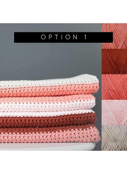 Pakket Block blanket - kleur 1