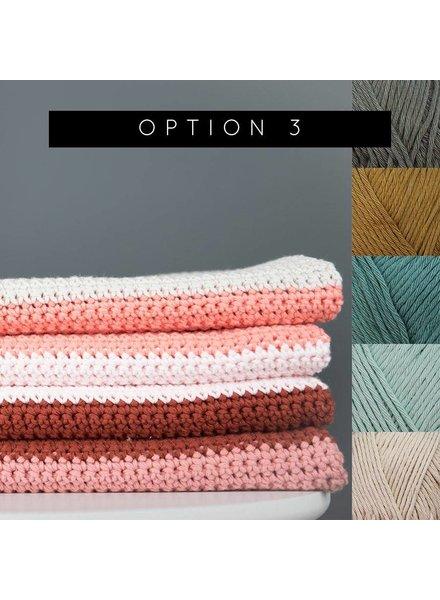 Pakket Block blanket - kleur 3