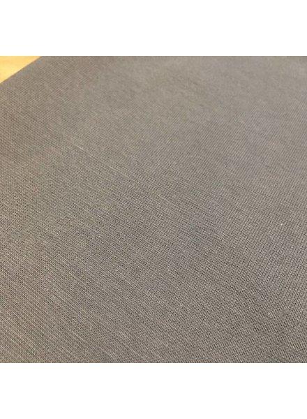 Boordstof - Middengrijs - Coupon 48 cm
