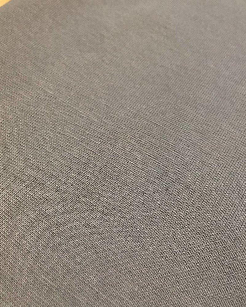 Boordstof - Middengrijs - Coupon 44 cm