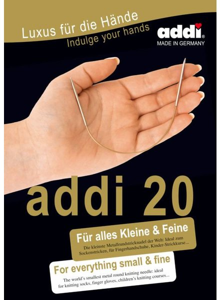 Addi Rondbreinaald 20 cm - 3,25 mm