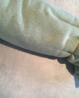 Sweat - Gemêleerd groen - Coupon 1m30
