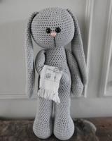 Funny XXL - Funny Bunny Basic lichtgrijs