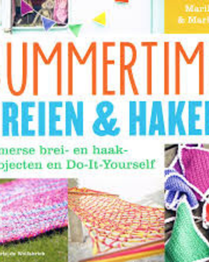 Boek - Summertime breien & haken