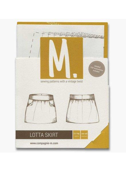 Patroon Compagnie M - Lotta Skirt teens & women