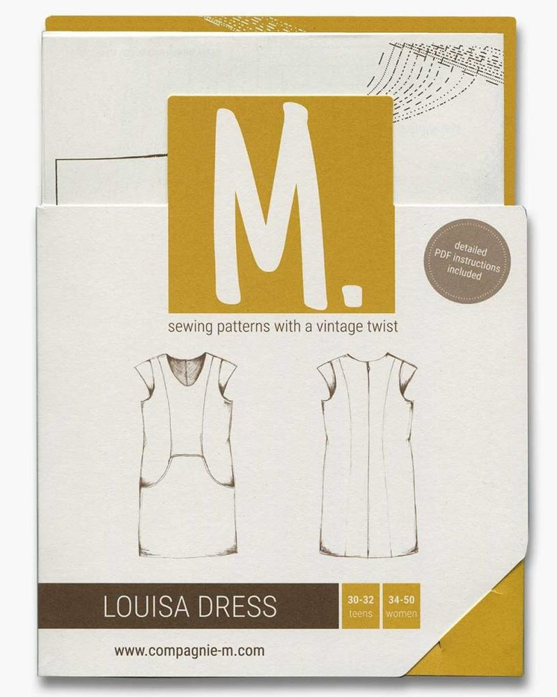 Patroon Compagnie M - Louisa Dress teens & women