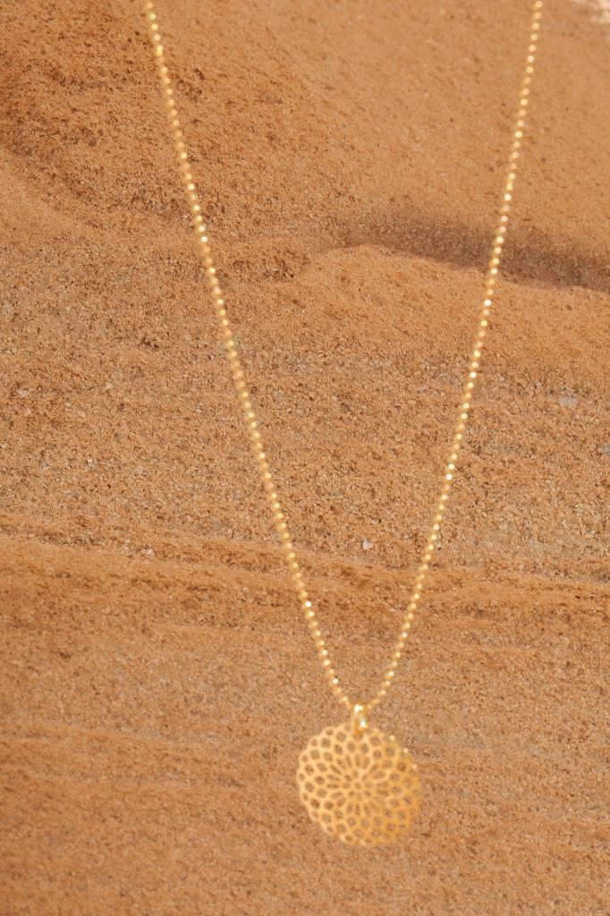 artjany vergoldete Mandalakette