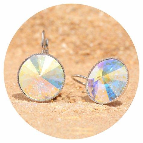artjany Ohrhänger mit Kristallen in crystal aurora borealis - Copy