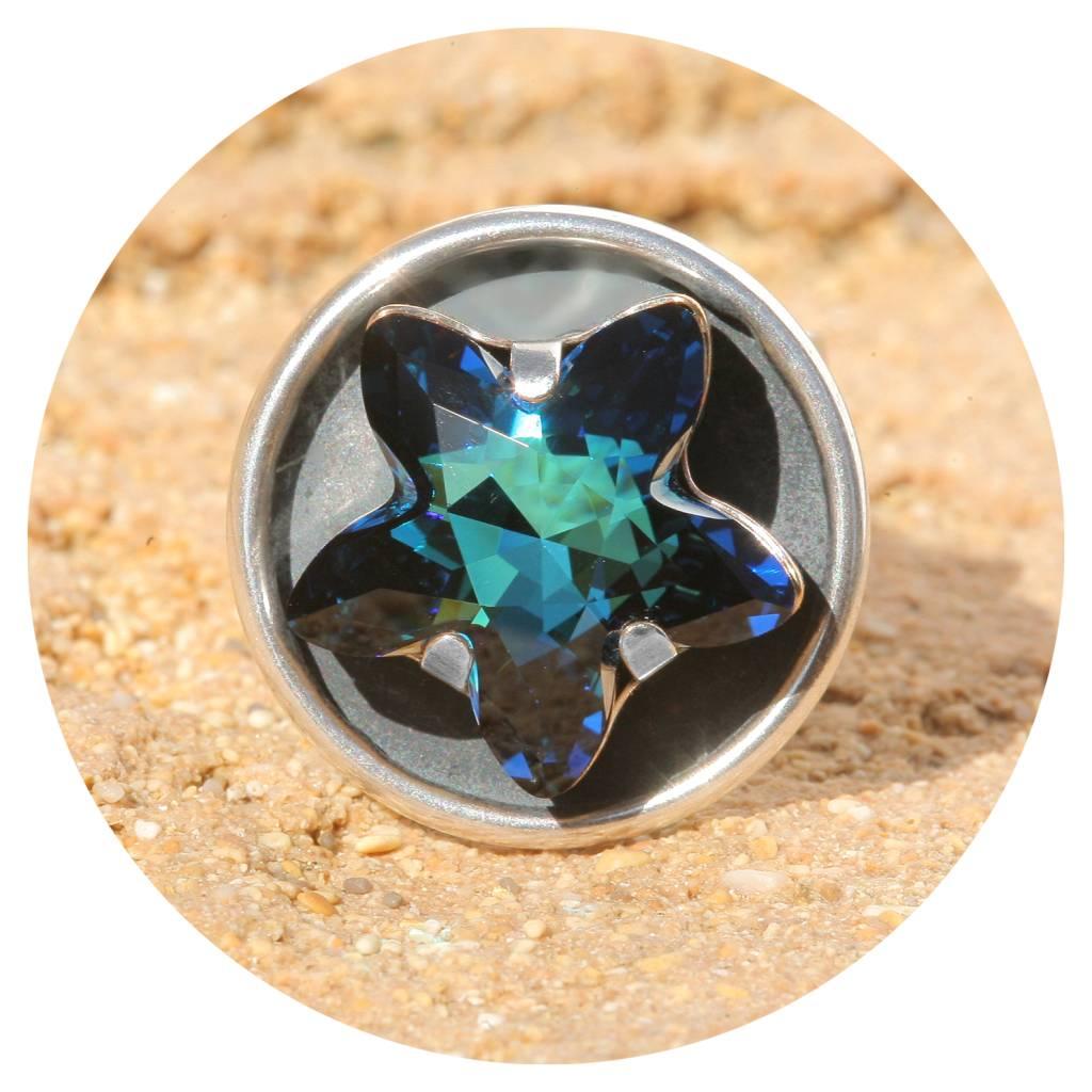 artjany Ring mystic star bermuda blue