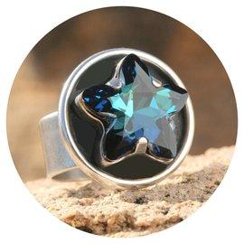 R-MS mystic star bermuda blue