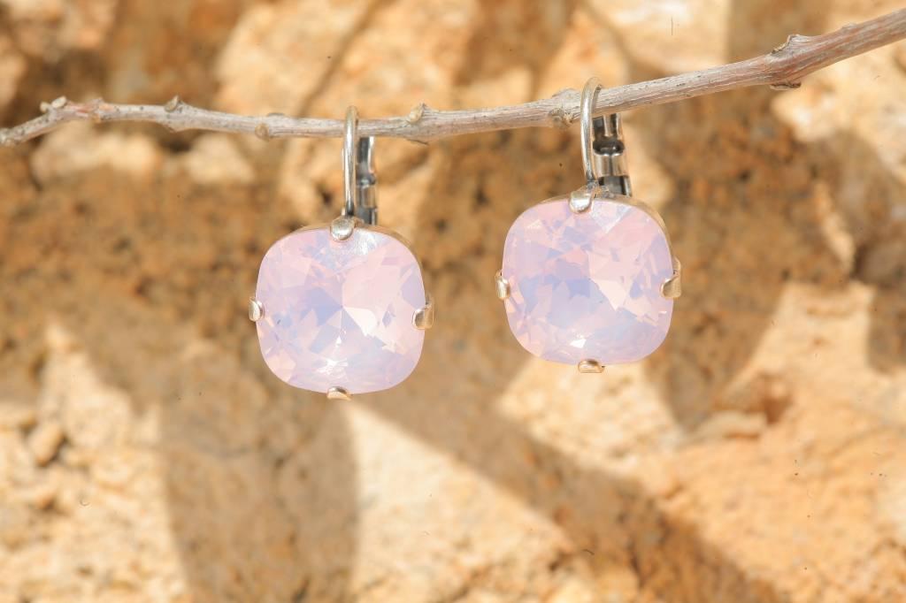 artjany Ohrhänger mit crystals in rose water opal