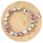artjany Collier mit crystals in pearl mix