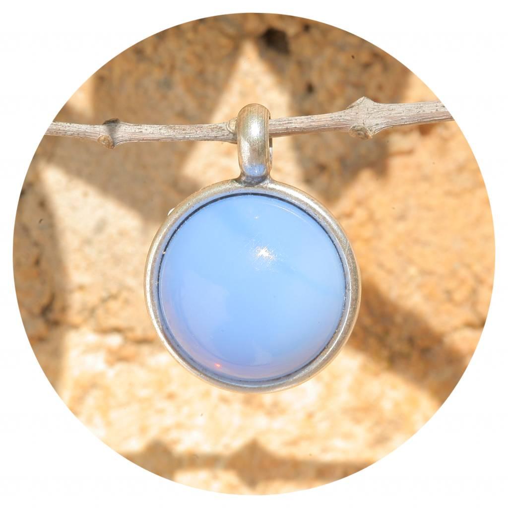 artjany Anhänger mit einem Cabochon in sapphire opal