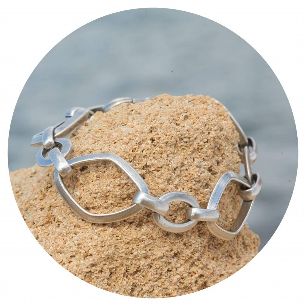 artjany Glieder Armband elipse & raute