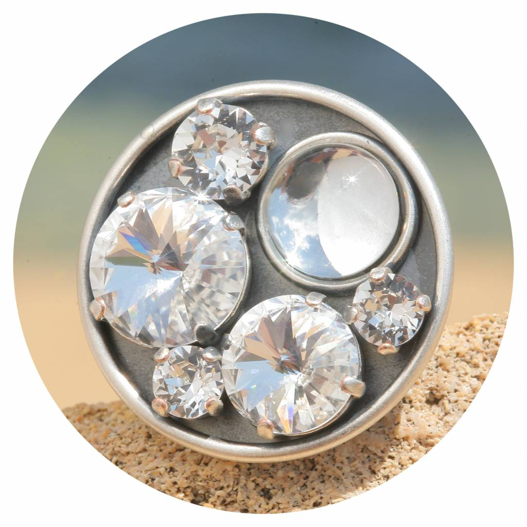 artjany Ring im crystal mix