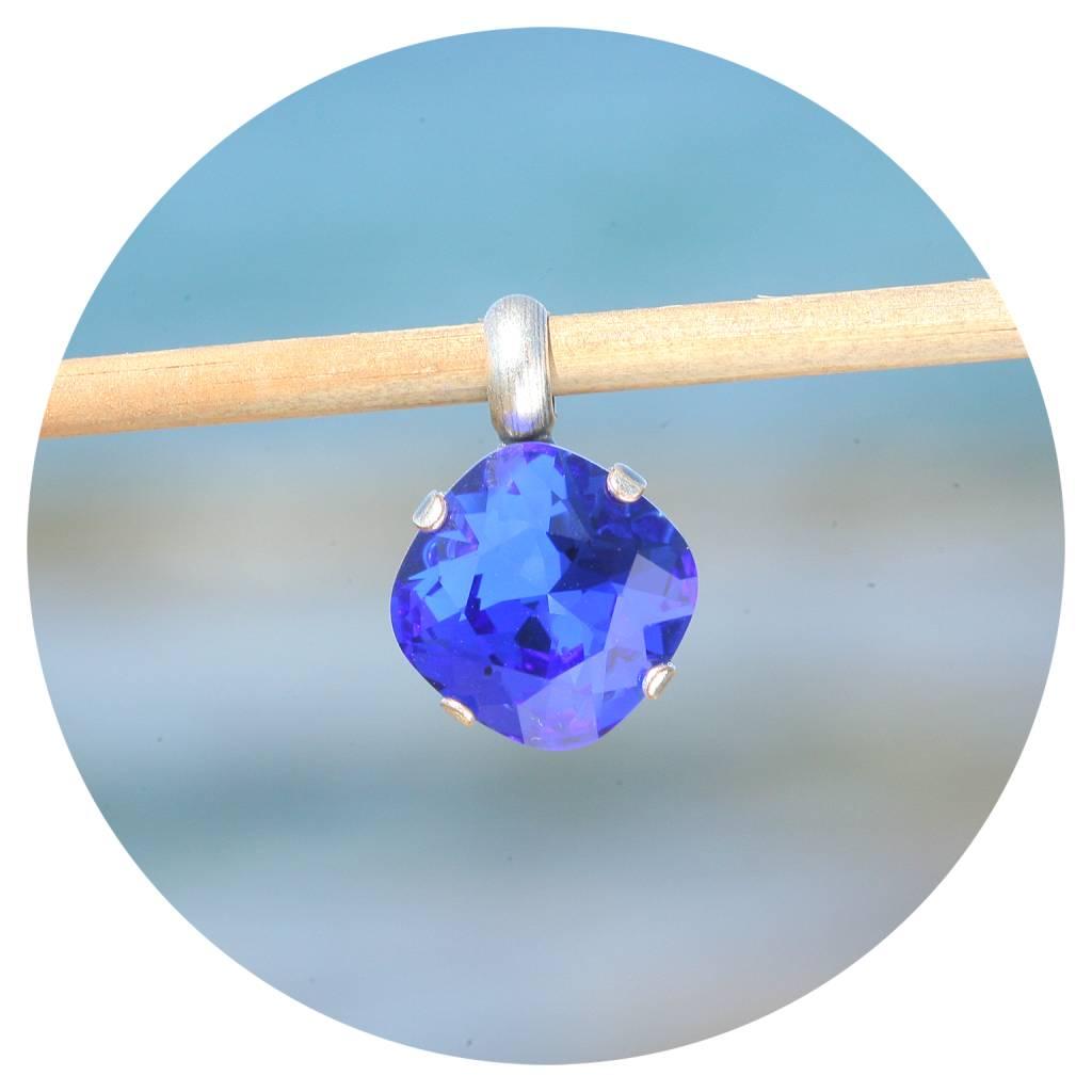artjany Anhänger mit einem crystal in sapphire