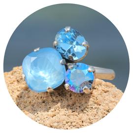 R-ZVS glitter blue mix