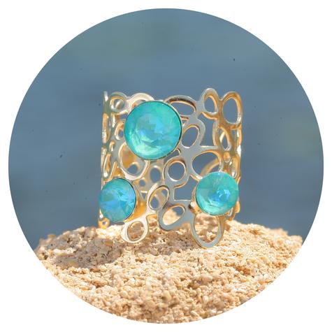 artjany goldener Ring in  Laguna deLite
