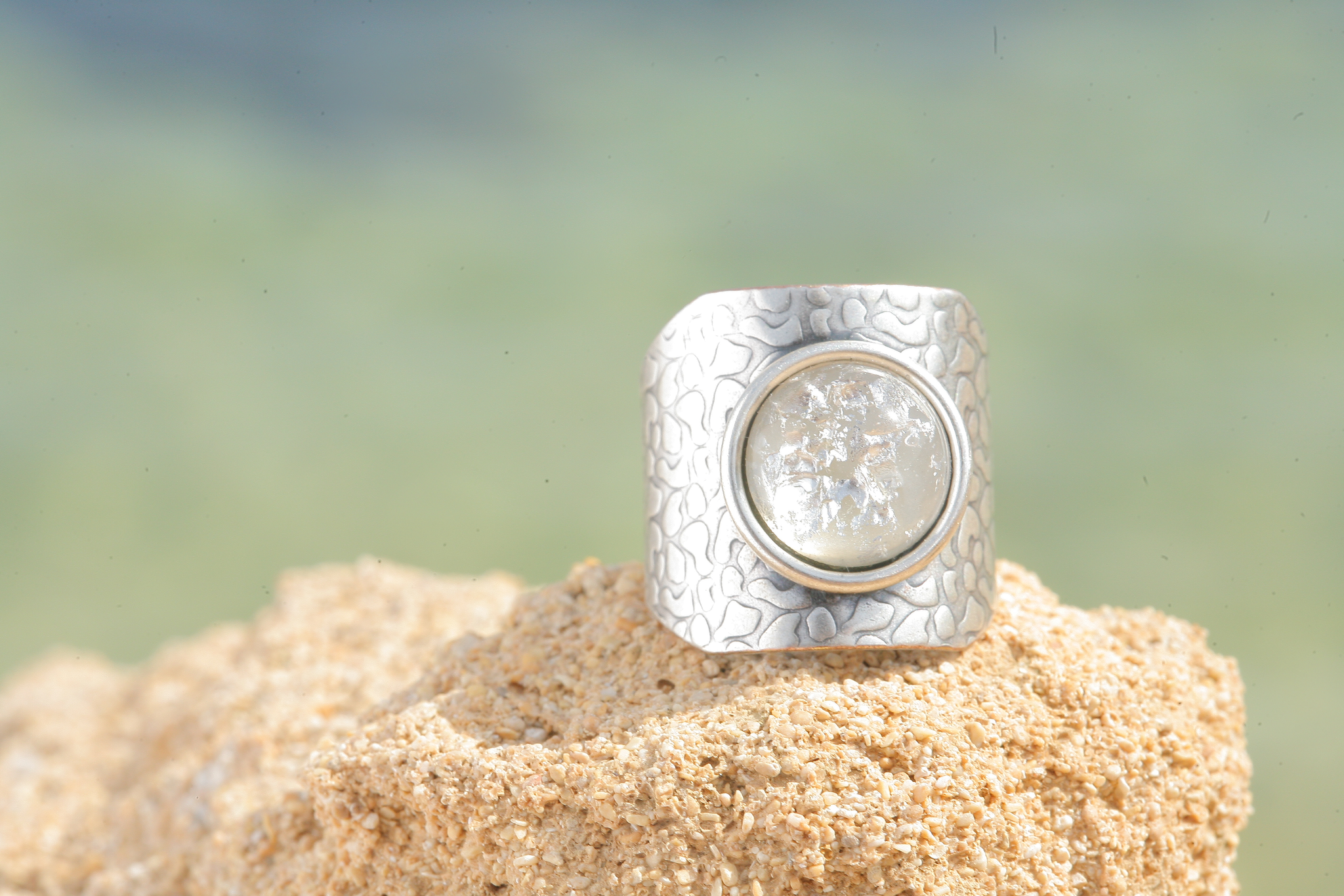 artjany Ring in grau patina