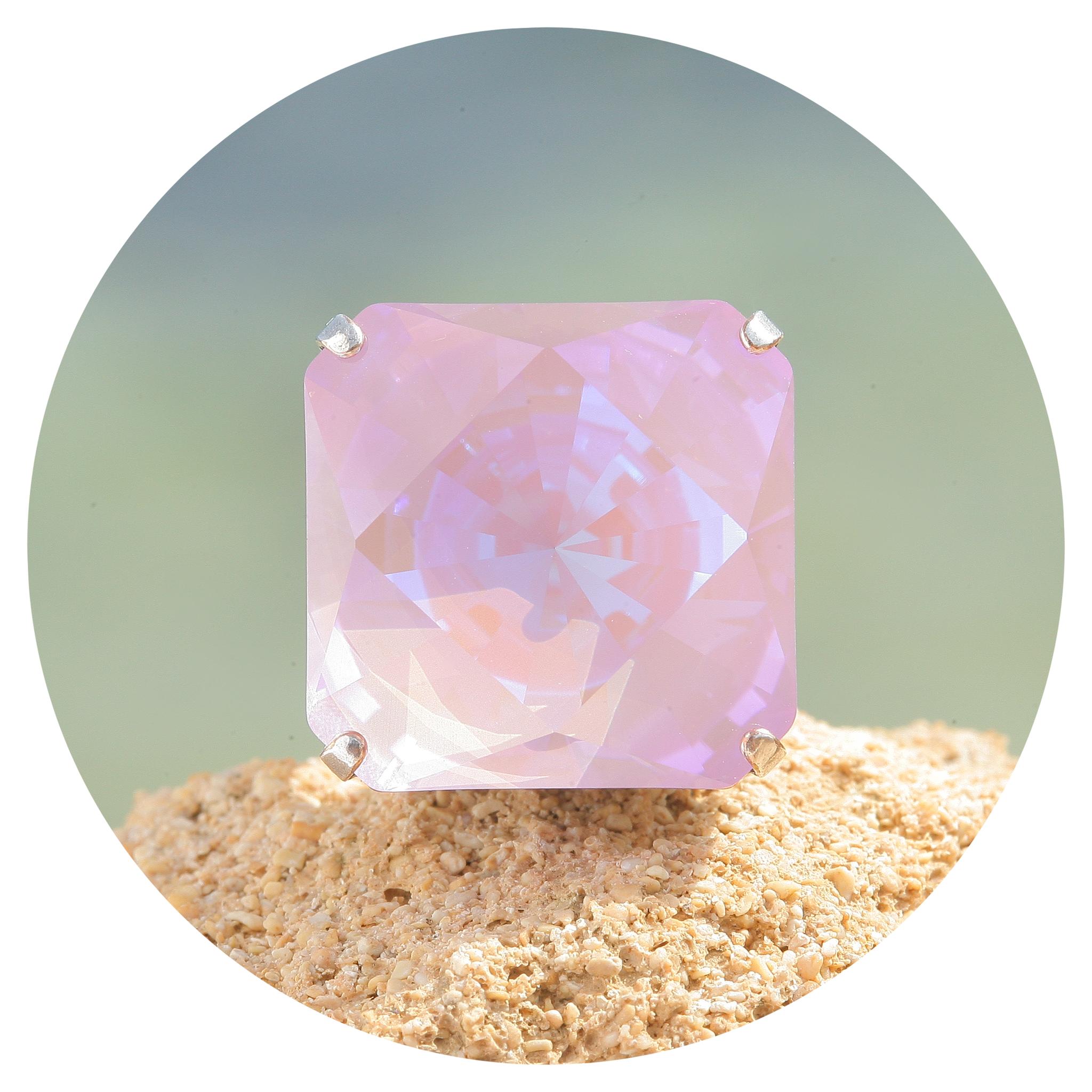 artjany Ring Kaleidoskop Square lavender deLite