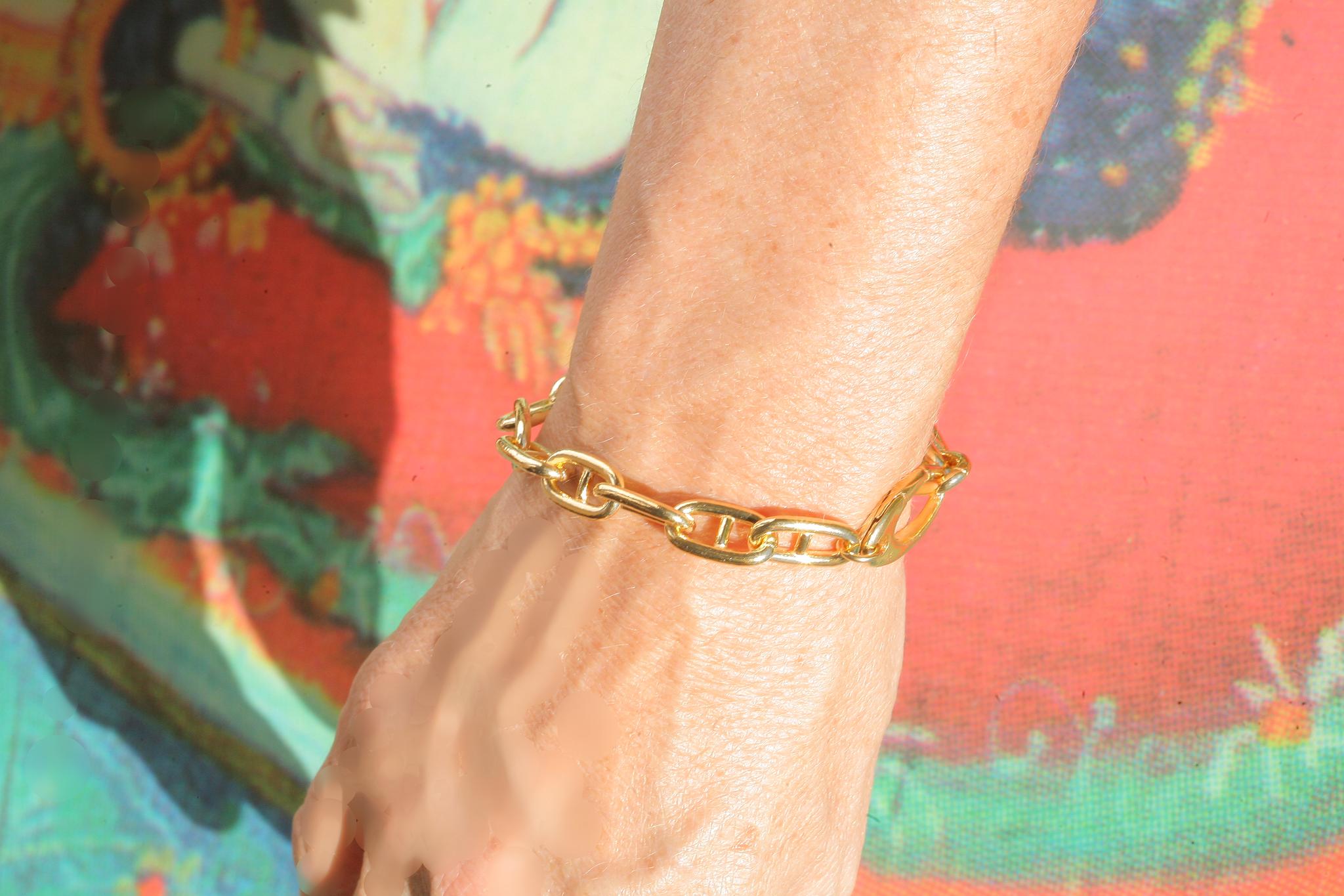 artjany vergoldetes  Steganker Armband