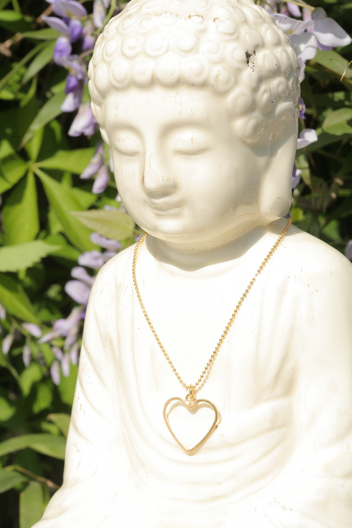 artjany vergoldete Halskette Herz