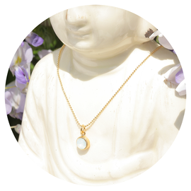 KE-GA77 white opal