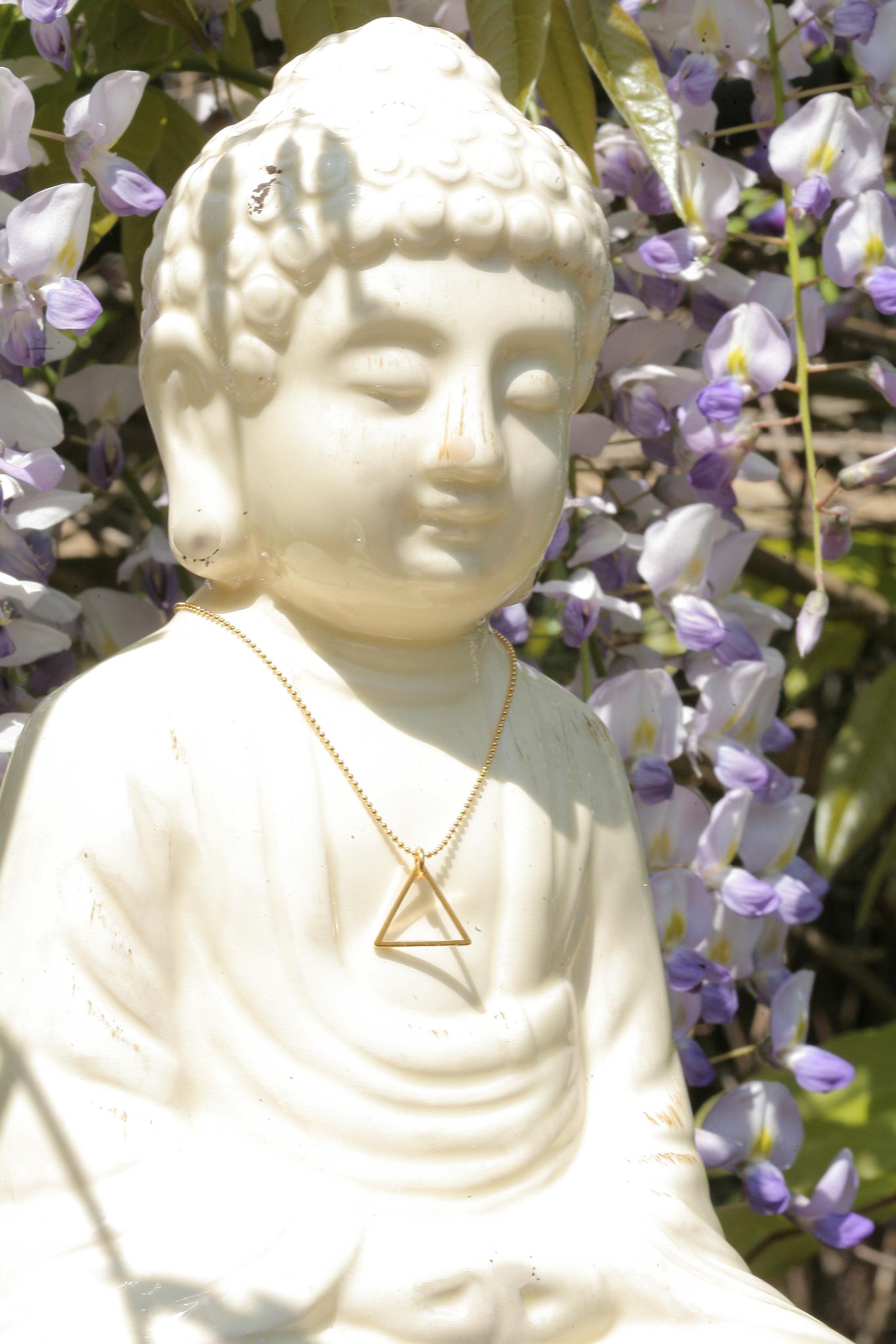 artjany vergoldete Halskette triangle