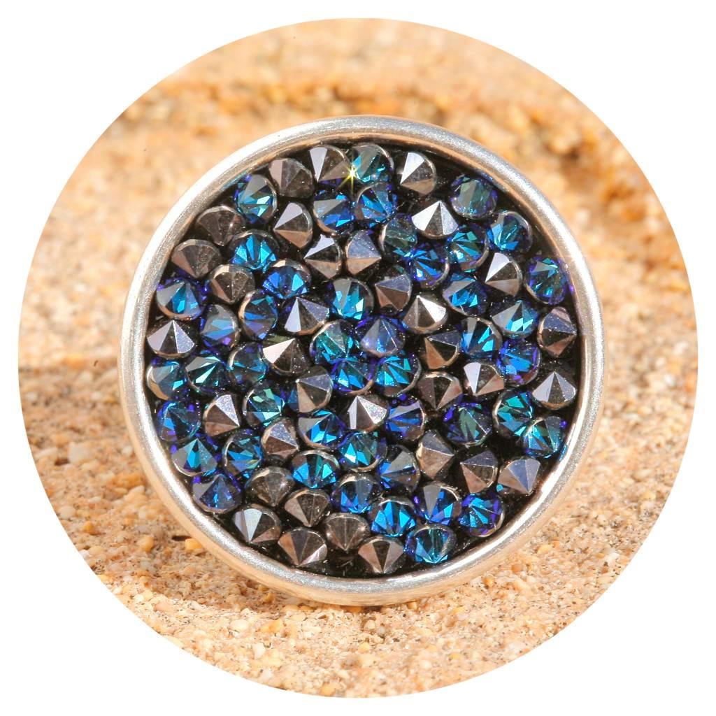 artjany Ring mit crystals in bermuda blue