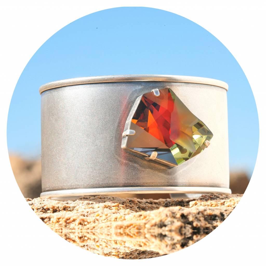 artjany Armreif mit einem crystal designed by Jean Paul Gaultier