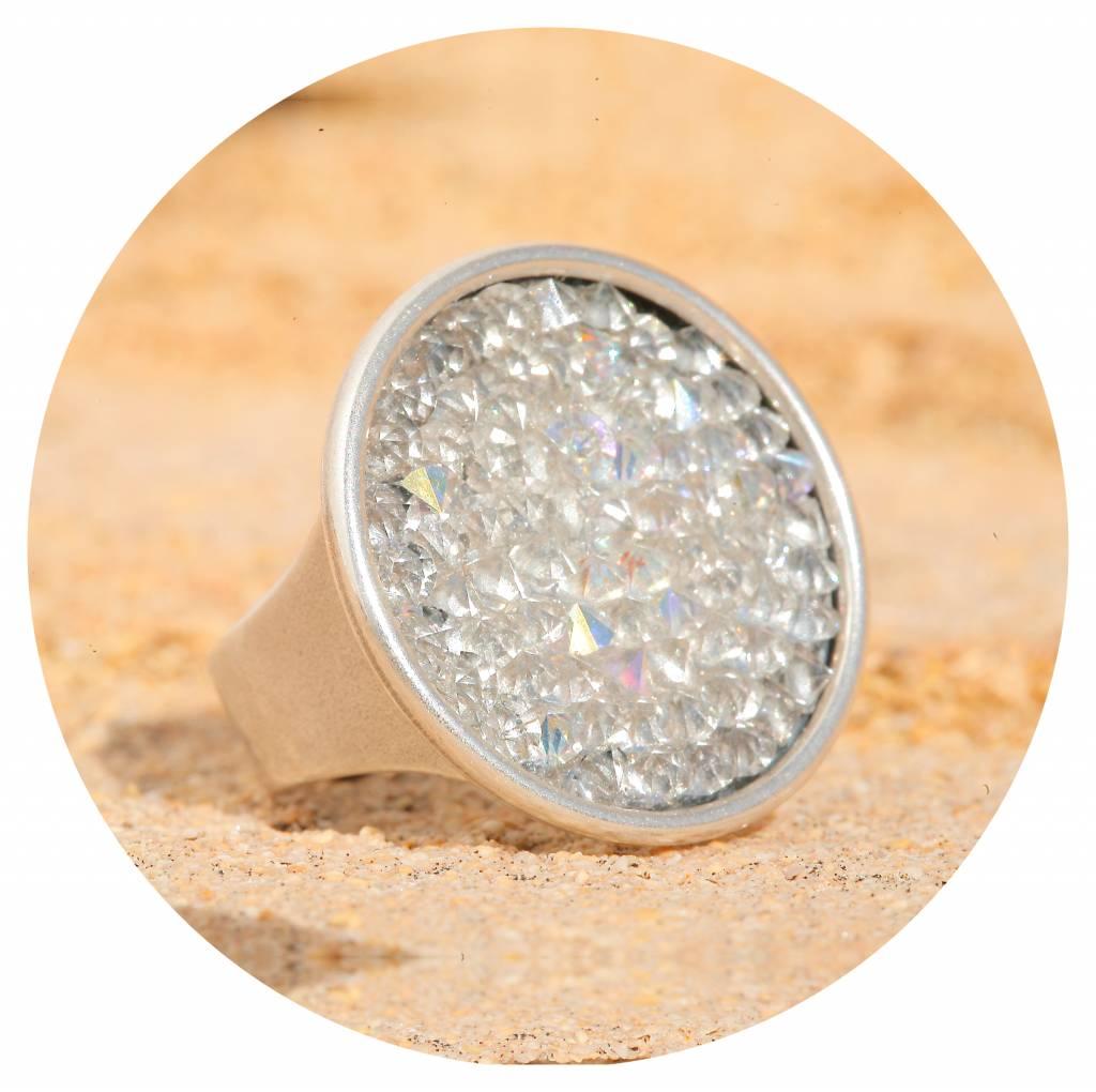 artjany Ring mit crystals rocks in crystal ab