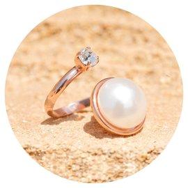 R-RM129 white pearl mix