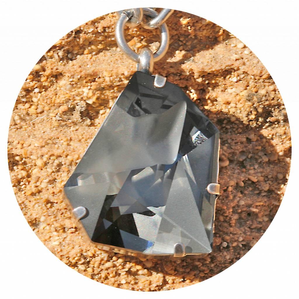 artjany Collier mit einem crystal designed by Jean Paul Gaultier