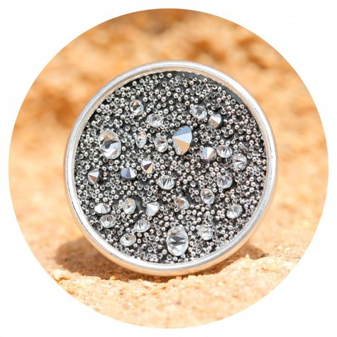 artjany Ring crystal medley in chrome
