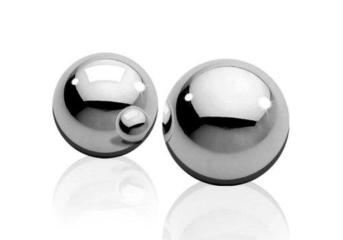Ben-Wa Ballen Zilver - Medium