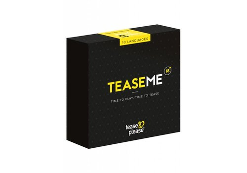 TeaseMe in 10 languages