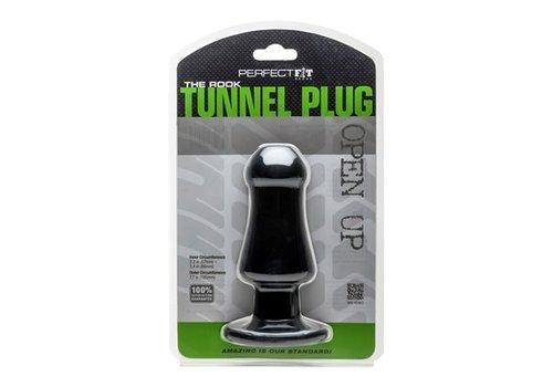 Rook Tunnel Plug - Zwart