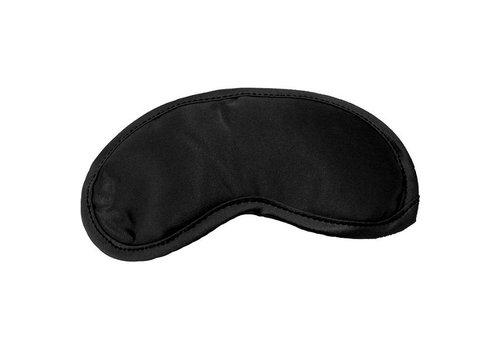 S&M - Satijnen Blinddoek Zwart