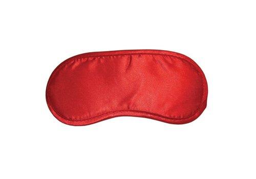 S&M - Satijnen Blinddoek Rood