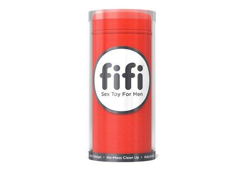 Fifi - Masturbator met 5 Sleeves Rood
