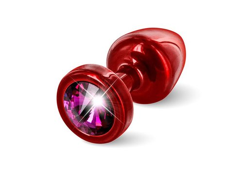 Diogol - Anni Butt Plug Rond 25 mm Rood & Roze